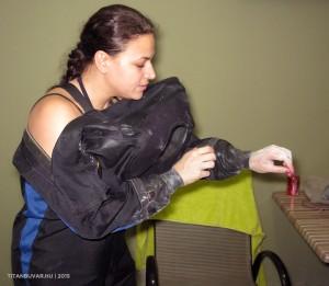 szarazruhás búvár képzés tanfolyam