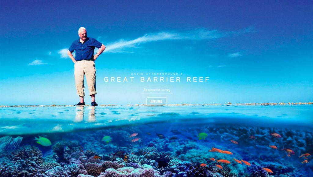 Búvár, Nagy korallzatony, David Attemborough