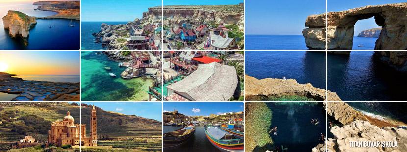 Gozo, Como, Málta búvártúra, máltai búvárkodás, málta nyaralás, búvár