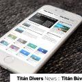 titán búvár hírek, titan divers news