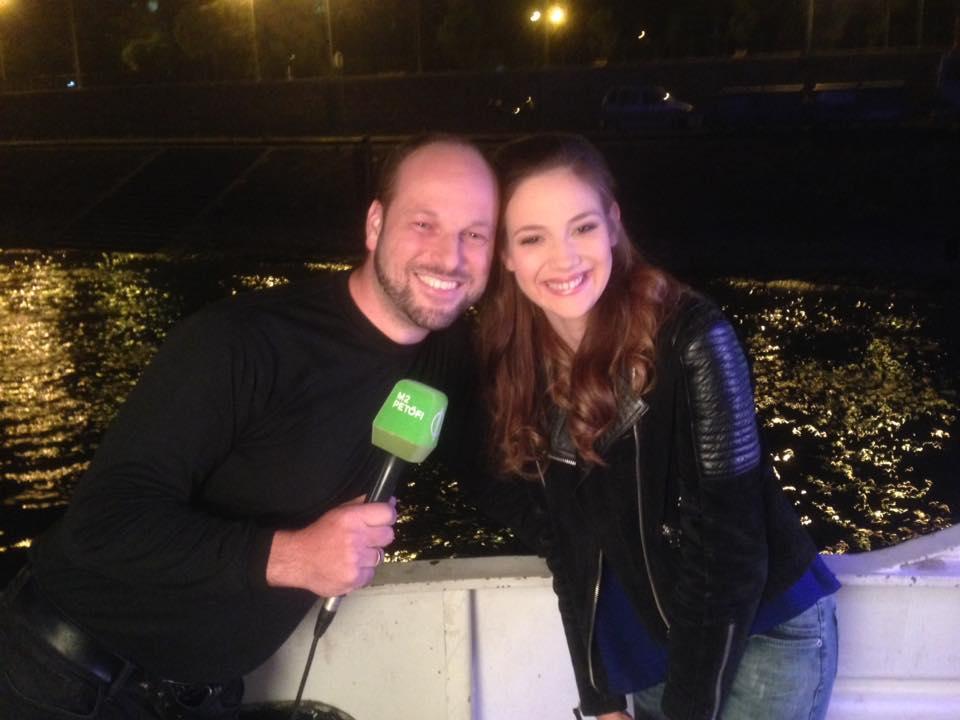 Réti Nóri búvárkodás magyarországon TV interjú