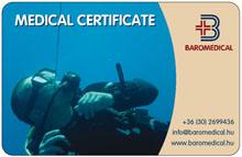 baromedical búvár alkalmassági orvosi kártya