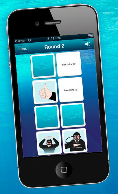 búvár kézjelzések, víz alatti kommunikáció