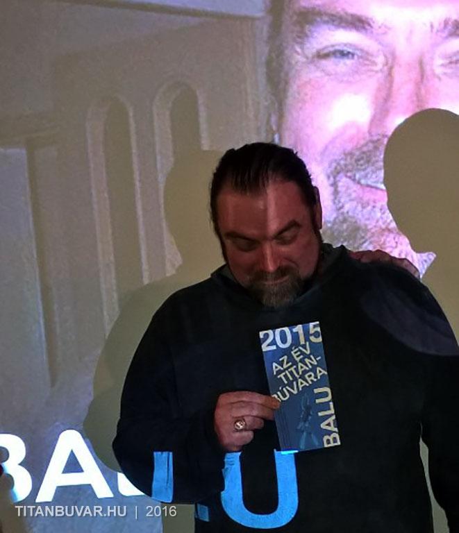 2015 év Titán Búvára díj
